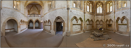 Spustit virtuální prohlídku - Hradní kaple, Bezděz