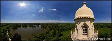 Spustit virtuální prohlídku - Minaret - vyhlídka, Lednice